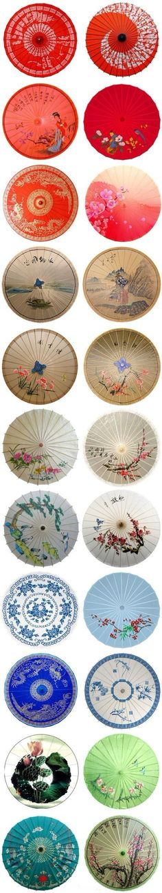 No excuse not to have a colourful oriental parasol! Chinese Culture, Japanese Culture, Chinese Painting, Chinese Art, Chinese Paper, Japanese Design, Japanese Art, Japanese Beauty, Illustration Arte