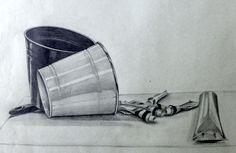 Kresba tužkou - zátišie