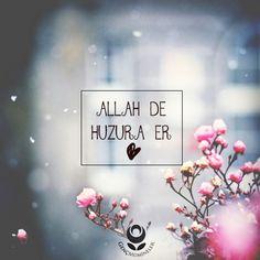 Genç Mümineler — Allah de Huzura er. :)