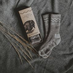 Bison Down Socks — The Dieline - Package Design Resource