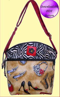 Pamela's Bag Sewing Pattern - by Sewphisti-Cat