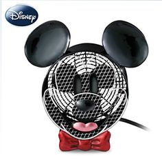 Mickey Mouse Electric Fan - how happy does this make you?? #Disney #MickeyMouse