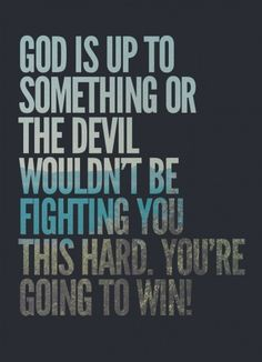 God always has a greater plan for us. Keep your faith. <3