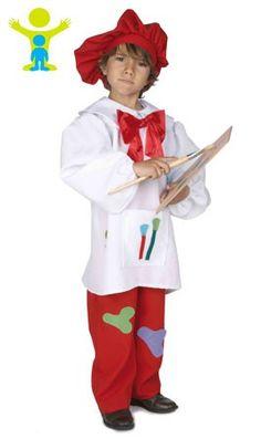 Disfraz de Pintor Salvador infantil