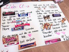 🎀Birthday gift 🎁 Chocolate letter- 🎀Geburtstags Geschenk 🎁 Schoko Brief 🎀Birthday gift 🎁 Chocolate letter, giftman -
