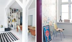 design attractor: Airy Danish Apartment, Eames