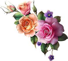 result for rose art gallery Vintage Diy, Vintage Flowers, Beautiful Roses, Beautiful Flowers, Contemporary Abstract Art, Rose Art, Arte Floral, Flower Wallpaper, Watercolor Flowers