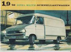 Opel Blitz prospekt