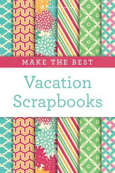 One of the best parts of a vacation are the fond memories it leaves behind.   Here is how to make the best vacation scrapbook so you can cherish those memories forever.