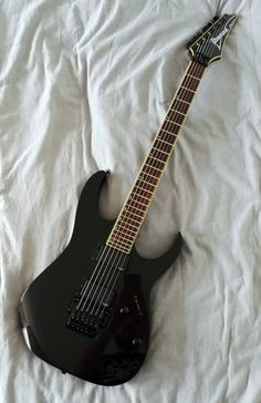 Guitare électrique Ibanez RGT6EX Black Pearl