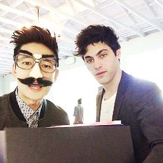 ingrates: Harry and Matt giving us lesson two in... - bts, shadowhunters, anime, gay ships