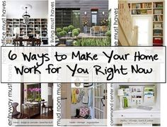 6 ways to make your home work for you