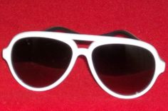 Foster Grant Womens Solar Accents White Acrylic Aviator Sunglasses # 1
