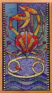 CANCER,  by Sir George Trevelyan: Attingham Park, The Attingham Zodiac.