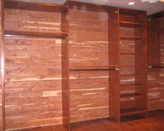 Finally A Cedar Closet.