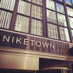 """See 1882 photos and 214 tips from 26753 visitors to Niketown. """"To get the best of of Niketown you've got to catch it when it's least busy - come early. Four Square, Cinema, Nyc, New York, Heart, Places, Movies, New York City, Cinematography"""