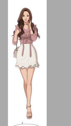 Character Design Disney, Character Ideas, Apple Water, Female Anime, Suho, True Beauty, Drawing Reference, Webtoon, Art Girl