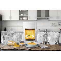 Chef's Banquet Macaroni & Cheese Storage Bucket 180 Servings