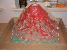 DIY: How to Make a Volcano for Kids