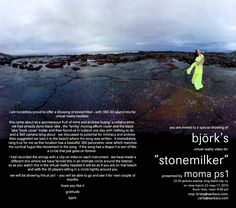 "björk's ""stonemilker"" is at ps1 until May 23 every Thursday-Monday between 12 and 6 p.m. Come for björk, stay for the virtual head set."