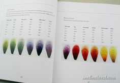 Colour Confidence in Embroidery - cool idea for a color sampler