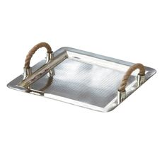 Hammered+Silver+Tray+With+Rope