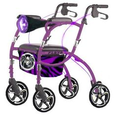 When it's time I will have one like this:-) Pimped out walker