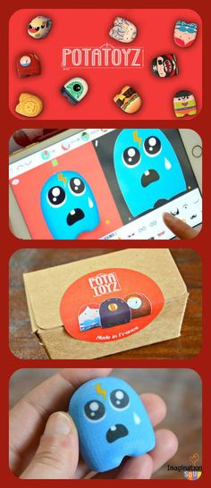 Build Your Own 3D Toy with Potatoyz App - great for imaginative kids who would love to see their creations come to life! #ad