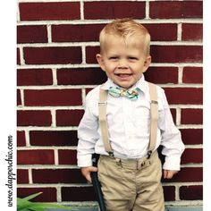 Loving this little cutie in our Suspenders & Bow Tie set!  #bowtie #dapperandchic #dapper #dapperkids #style #instagood #handmade #handcrafted #wedding #weddingbowties #igkidsfashion #fashion #suspenders #suspenderset #tan #mintbowties #mint