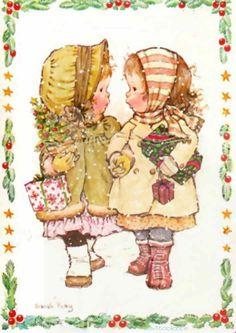 sarah kay navidad Sara Key Imagenes, Anime Comics, Sara Kay, Lined Writing Paper, Clown Party, Holly Hobbie, Christmas Scenes, Vintage Christmas, Christmas Girls