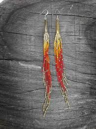 Image result for tutorial shoulder duster earrings with seed beads