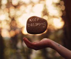 Blijven dromen!