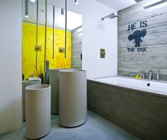30 Inspiring Industrial Bathroom Ideas