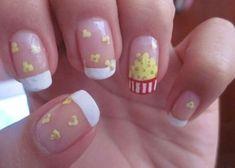 fun nail art designs Step By Stepfun nail art ideas Colour Nail Art Designs, Nail Polish Designs, Nails For Kids, Girls Nails, Carnival Nails, Food Nail Art, Jolie Nail Art, Manicure Y Pedicure, Get Nails