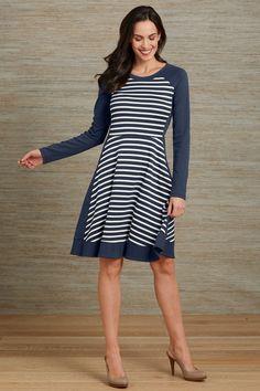 Fair Trade Organic Colorblock Dress