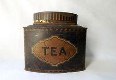boite à thé ancienne