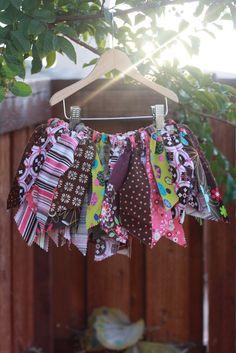 DIY Scrap fabric tutu! Must make this.