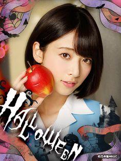 yic17: Nogizaka46 Halloween Mobile Wallpapers 2015