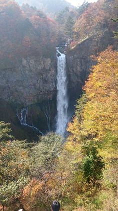 日光 華厳の滝 10月 Nikko Kegon