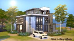Sims4 Mid Century Industrial - Ruby's Home Design