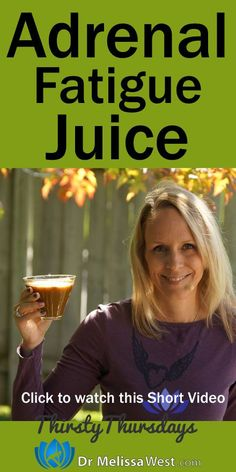 Juice for Adrenal Fatigue  1 cup Pineapple 1 cup carrots 1 cup leafy greens such as spinach, kale, collards, etc. Grate Cardamom and Cinnamon on top