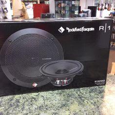 Rockford Fosgate 5.25 inch car speakers, new in the box. #stopandpawn #rockford #caraudio #rockfordfosgate