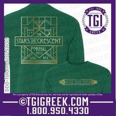 TGI Greek - Delta Delta Delta - Formal - Greek T-shirt #tgigreek #deltadelatdelta #tridelt