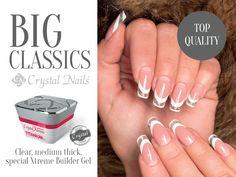 #nails #nailgel #nailart #nailsculpting #titaniumgel #crystalnails