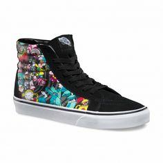 203755fe3a Vans Chaussures Sk8-Hi Reissue (Disney) Rabbit Hole black - Vans France  Boutique en ligne officielle