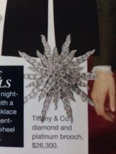 Star brooch + Tiffany