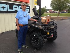 Thank you Terry Amacker from Carriere, MS for getting your 2017 Can-Am Outlander 1000 at Hattiesburg Cycles. CanAmOffRoad