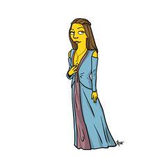 Game of Thrones Simpsonized - Margaery