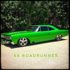 by Cars&Autos🇺🇸🏁🚗🚓💨 Old Classic Cars, Us Cars, Race Cars, Road Runner, American Muscle Cars, Car Pictures, Car Photos, Custom Cars, Cars And Motorcycles