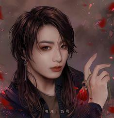 Jungkook Hot, Foto Jungkook, Bts Taehyung, Vkook Fanart, Jungkook Fanart, Vkook Memes, Photoshoot Bts, Kpop Drawings, The Scene